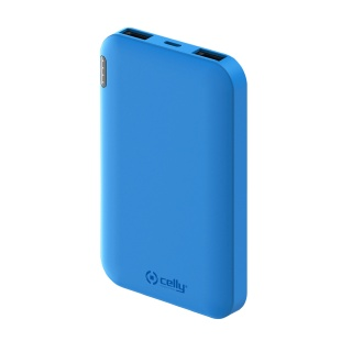 CELLY Power Bank ENERGY od 5000mAh u plavoj boji