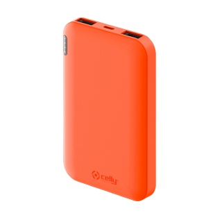 CELLY Power Bank ENERGY od 5000mAh u narandžastoj boji