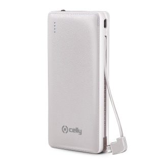 Brzi Power bank 6600mAh u beloj boji