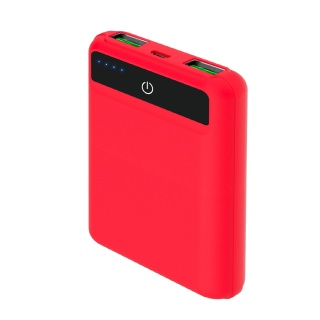 CELLY Power bank POCKET od 5000mah u crvenoj boji