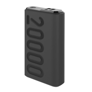 CELLY Power Bank od 20000mAh PD18W u crnoj boji