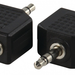 AC012 Stereo audio adapter