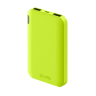 CELLY Power Bank ENERGY od 5000mAh u žutoj boji